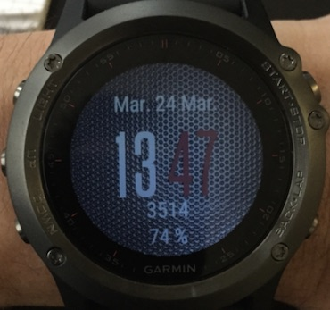 how to remove watch face garmin