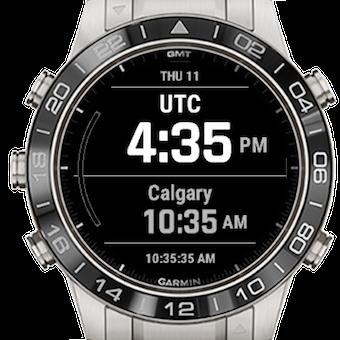 Multi Time Zone | Garmin Connect IQ