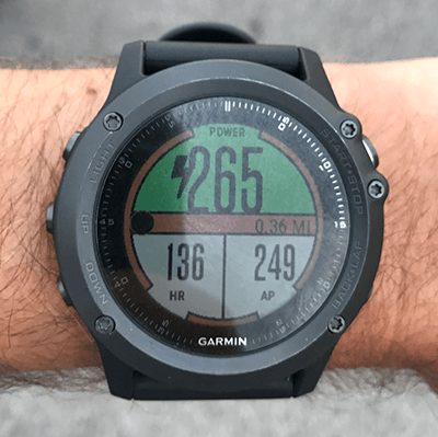 PowerRace | Garmin Connect IQ