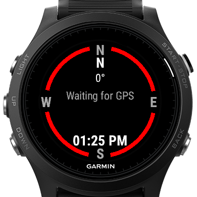 Compass and GPS Heading Widget | Garmin Connect IQ