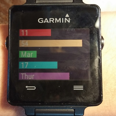 how to change device display garmin connect