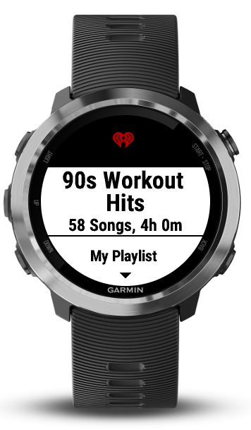 iHeartRadio Playlist Sync | Garmin Connect IQ