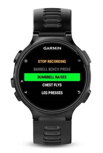 how to create hiit workout activity garmin forerunner 235