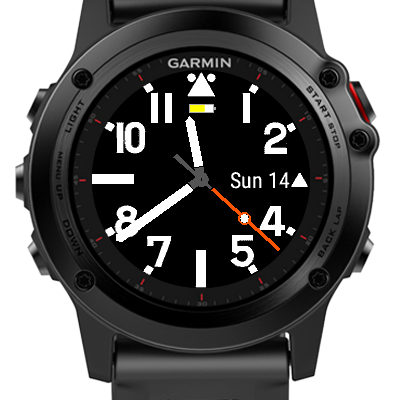 how to change watch face garmin connect