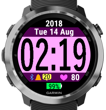 Colorful Watch | Garmin Connect IQ