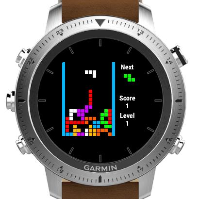 Classic Tetris Game | Garmin Connect IQ
