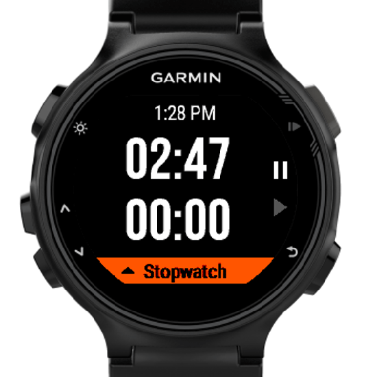 Stopwatch + Timer | Garmin Connect IQ